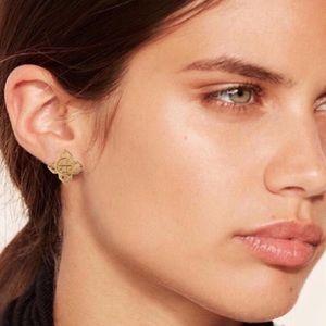 Tory Burch Jewelry - TORY BURCH • Gold Babylon Earrings